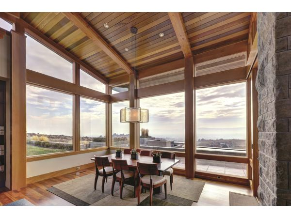 JELD-WEN® EpicVue™ contemporary clad-wood windows and patio doors