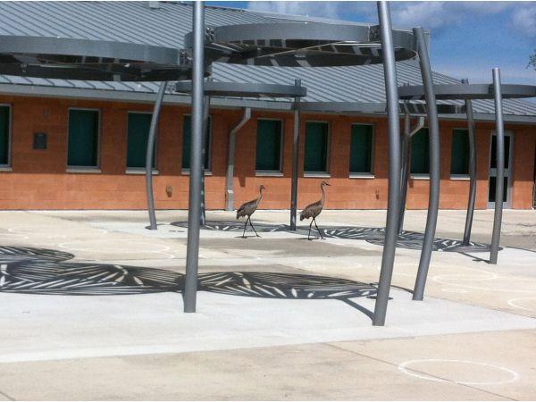 'Sandpiper Pavilions' - SouthShore Public Library, Hillsborogh Co., FL