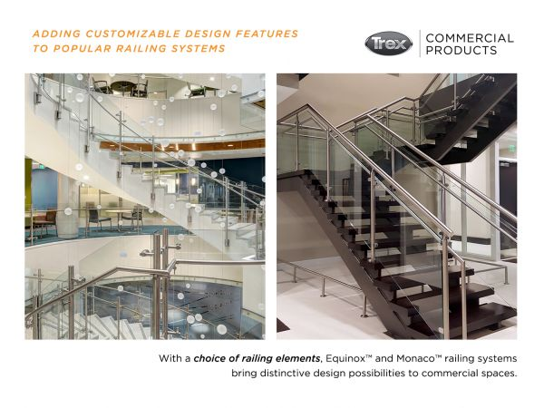 Customizable Design Features to Popular Railing Systems