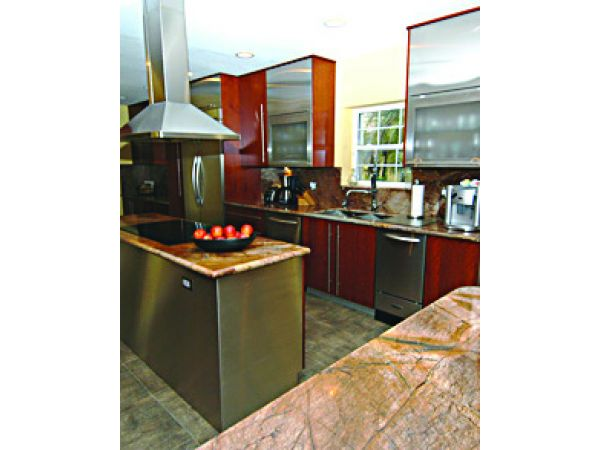 Wood Laminate for Stainless Steel Cabinets
