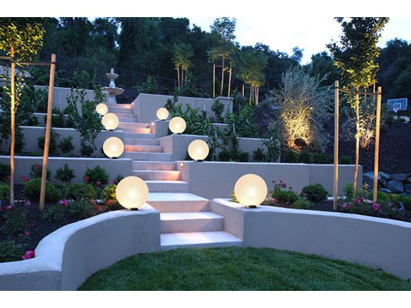 Outdoor Sphere Lighting