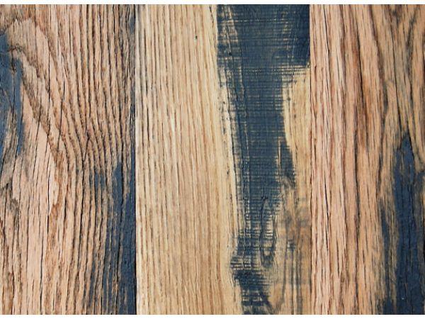 Reclaimed Oak, Black & Tan 50/50