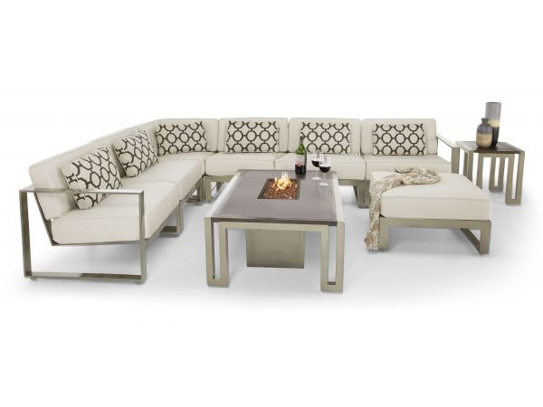 Park Place Sectional Deep Seating w/Fire Pit