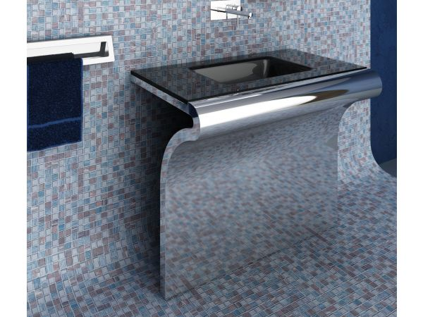 20 Serie - Console in stainless steel