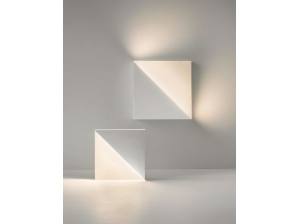 Richard Meier Light Square Sconce for Ralph Pucci