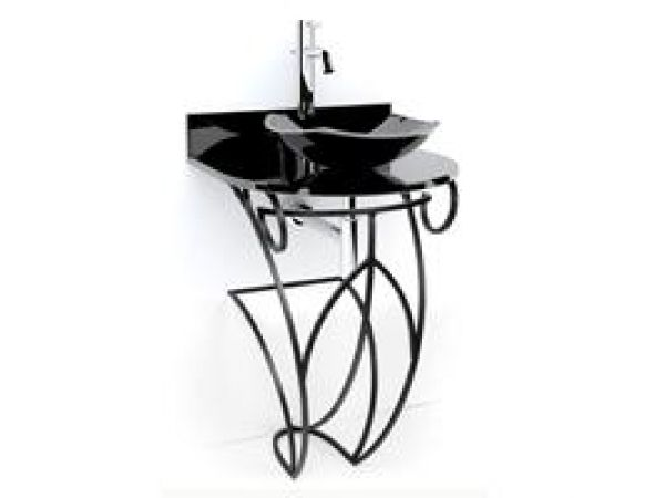 Victoria Wrought Iron Pedestal