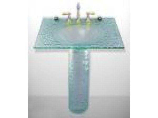 Lucent Pedestal Sink