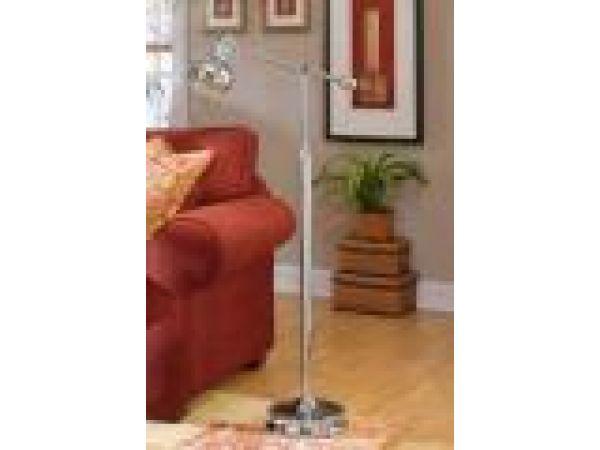 Ball Shade Floor Lamp