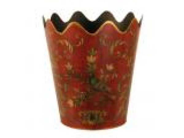 Mfg #: 03-1251 ROUND SCALLOPED PLANTER