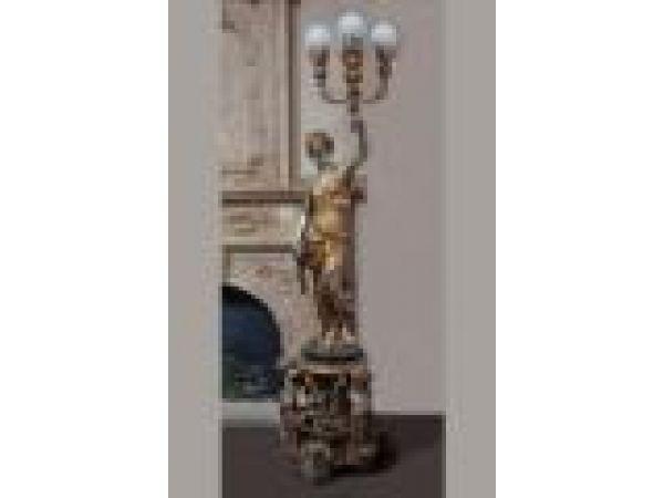 Cast Iron, Bronze & Aluminum Statues - S009B