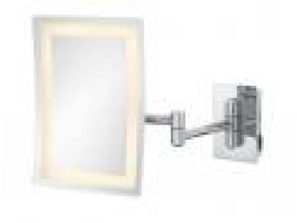 LED Lighted Rectangular Wall Mirror