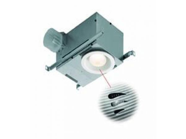 Humidity Sensing Recessed Fan/Light