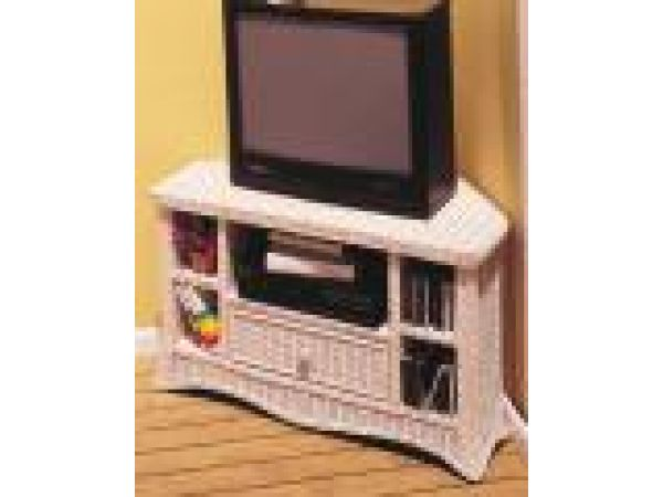 Corner TV/VCR Cabinet