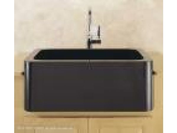 Farmhouse Sink w/ Polished Front Apron
