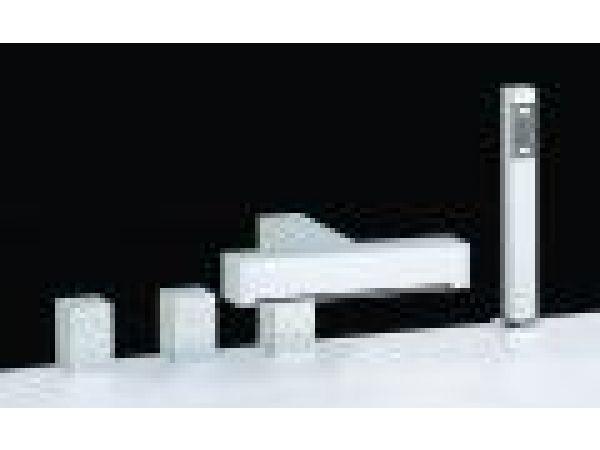 MIRO - Waterfall Roman Tub Set