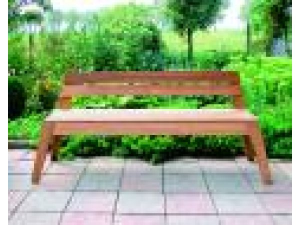 Freeline wedgedWOOD Bench Plus