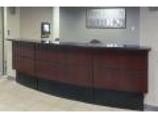Fort Wayne Pools Reception Desk