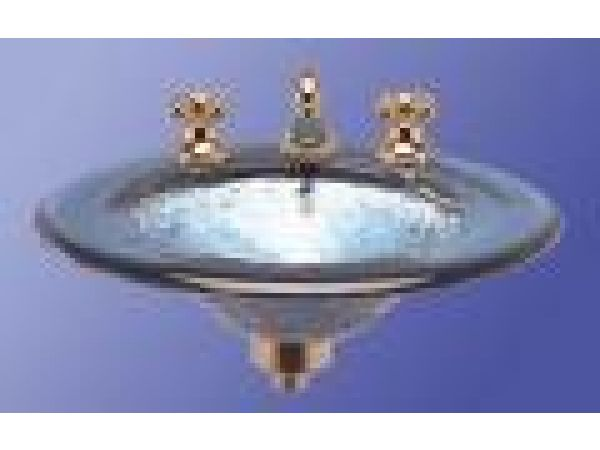 Round drop in wash basin  Model LAS110