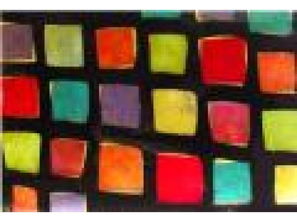 MONTIQUE CANDY SQUARES LICORICE Placemat
