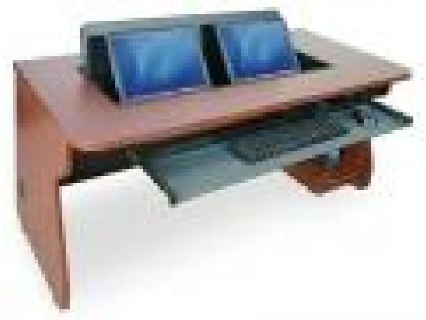 flipIT' DUO Multi Monitor Desk