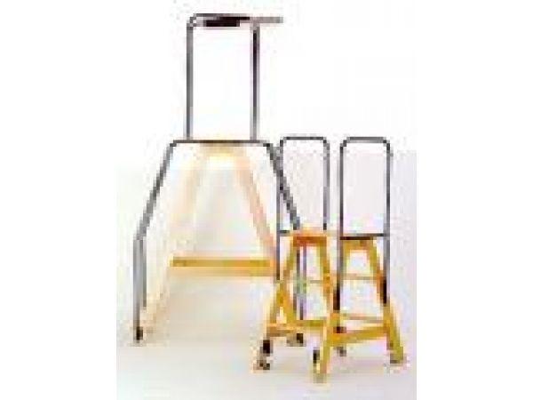 Rolling Platform Ladders