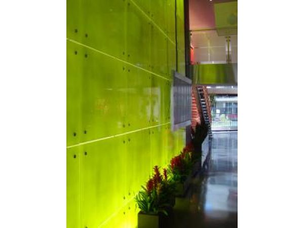Lime Lobby Art