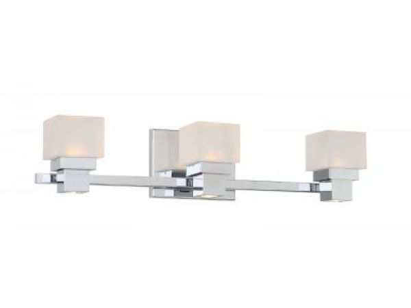 Kube family of LED Vanities and Sconces unveiled by WAC Lighting