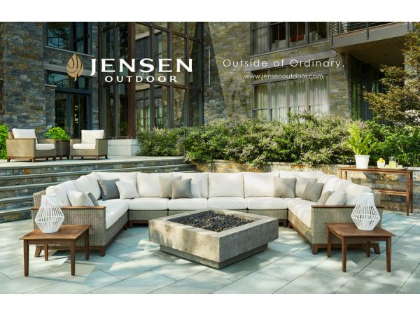 Jensen Leisure Furniture Broadens Focus: Relaunches as Jensen Outdoor