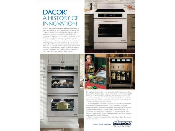 DACOR: A HISTORY OF INNOVATION
