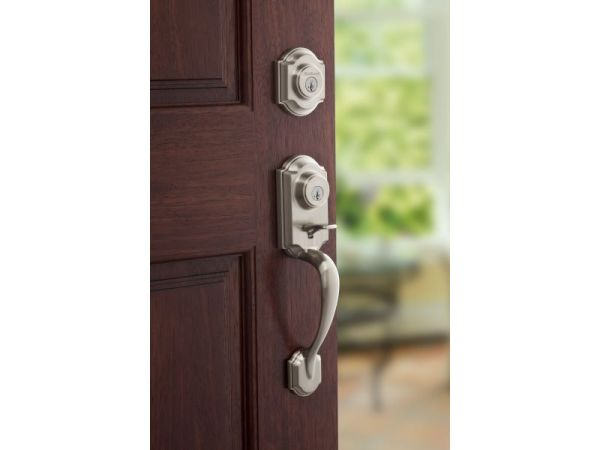 Kwikset Keeps Homes Twice As Safe With Two-Point Locking Handleset