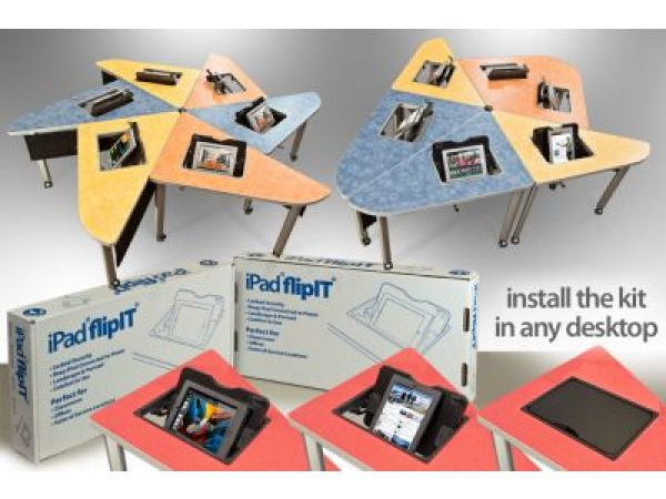 iPad flipIT prevents damage and improves classroom iPad experience