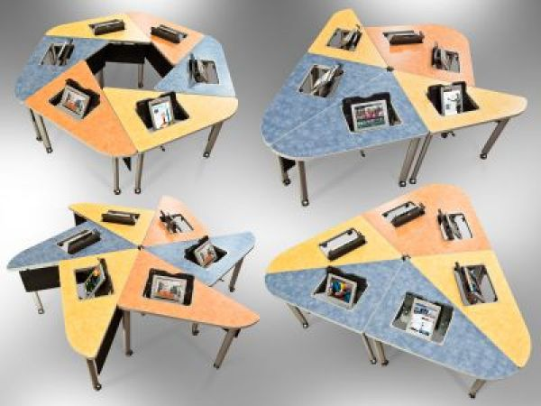 iGroup Tables by SMARTdesks: Origami of Interaction