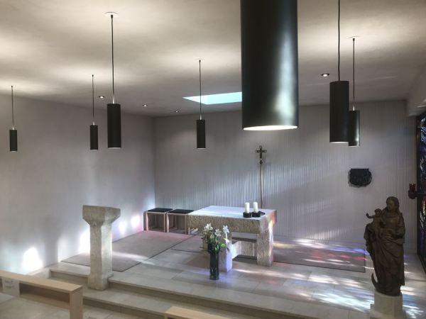 Church lighting Kiro 4000 & Kiro 6000