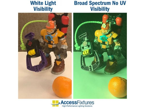 No-UV Lighting From Access Fixtures
