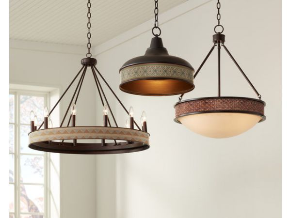 Lamps Plus Introduces New Collection of Metal Fixtures Featuring Exclusive Shade Patterns