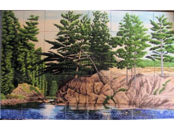 Brighten Your Decor with Hand-Painted Tile
