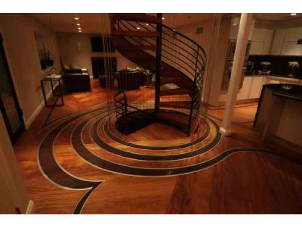 Wood Floors Add Green Decorating Style