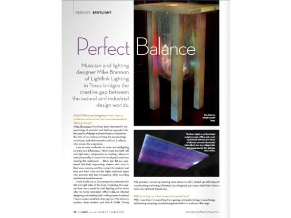 Perfect Balance | EnLIGHTenment Magazine