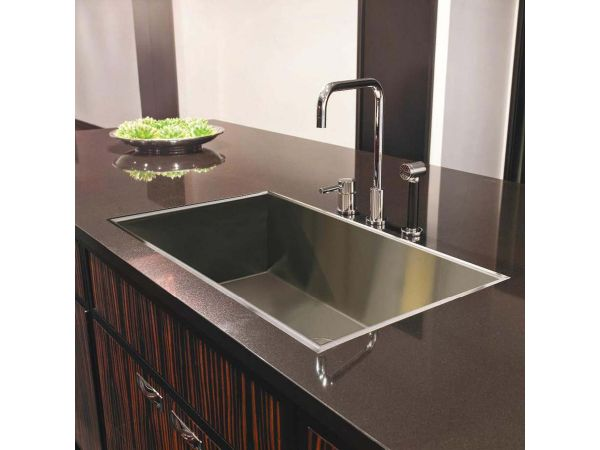 ARC Flush-Mount Sink for Kitchen and Bath