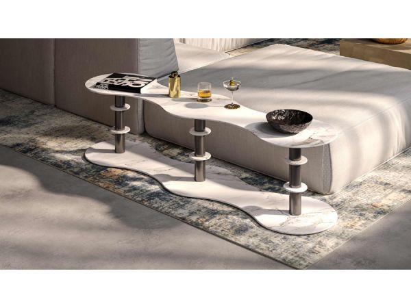 One collection, two souls: VittEr Design® by Filippi 1971 presents Déco, the glam side of the POP furniture line