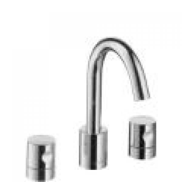 design journal archinterious axor uno widespread faucet set by hansgrohe. Black Bedroom Furniture Sets. Home Design Ideas