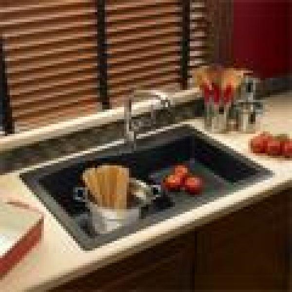 The Swanstone Ascend Granite Kitchen Sink Loading Zoom