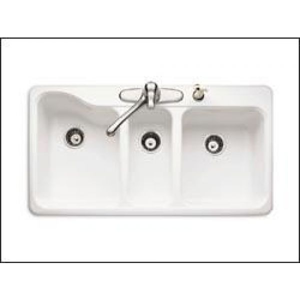 American standard silhouette triple bowl kitchen sink wow blog - American standard kitchen sink ...