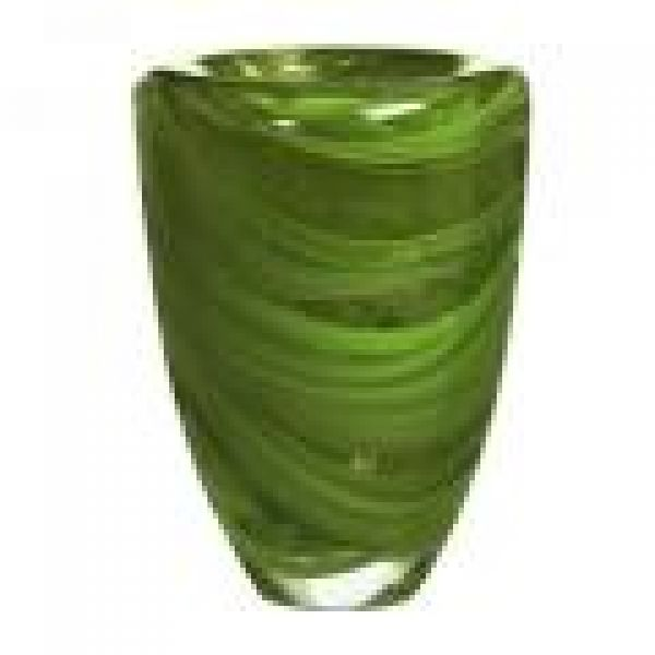 Design Journal Archinterious Atoll Grass Green Vase By Orrefors