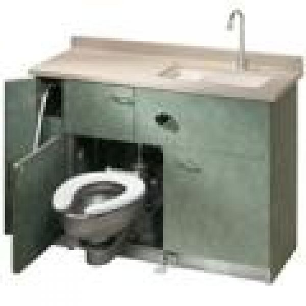 Bradley Commercial Sinks : ... , Archinterious Lavatory/Water Closet Comby by Bradley Corporation