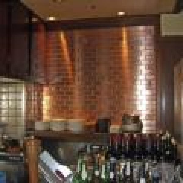 subway tiles stainless steel copper titanium loading zoom exotic metal interiors