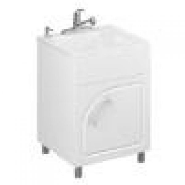 All In One Laundry Sink Cabinet : ... Archinterious Rave All-In-One Utility Sink & Cabinet by Masco Bath