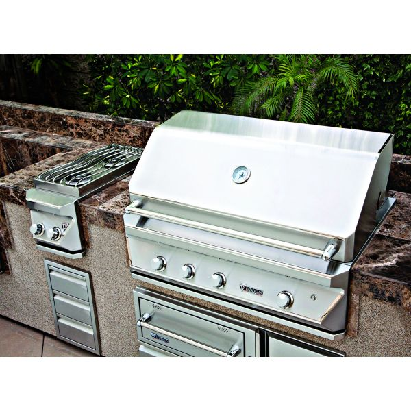 Design journal archinterious twin eagles outdoor for Outdoor kitchen equipment