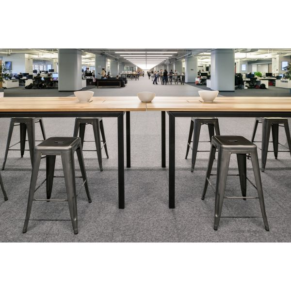 Design Journal Archinterious MASHstudios Custom Communal Bar - High top communal table