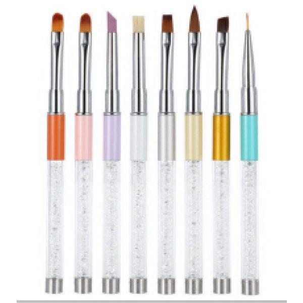 Design Journal Archinterious Premium Quality Nail Art Brush Set